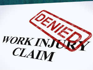 denied work injury claim
