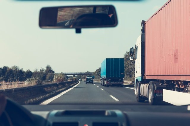 truck accident caused by distracted driving