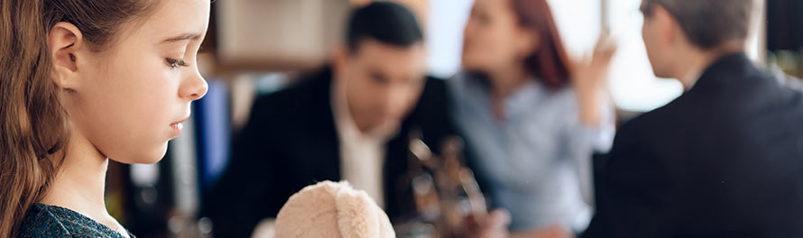 clients with family law attorney